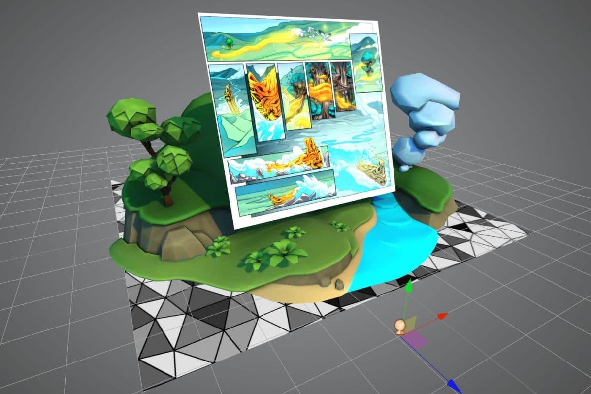 Manawatū, Augmented Reality Graphic Novel